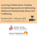 Learning Collaborative with School-Based Health Alliance Icon